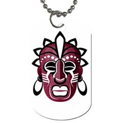 Mask Dog Tag (Two Sides)