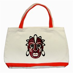 Mask Classic Tote Bag (Red)