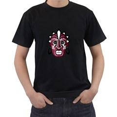 Mask Men s T-Shirt (Black)
