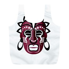 Mask Full Print Recycle Bags (L)