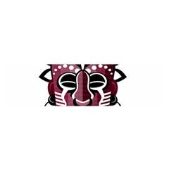 Mask Satin Scarf (Oblong)
