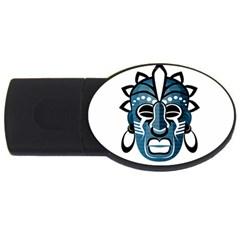 Mask USB Flash Drive Oval (2 GB)
