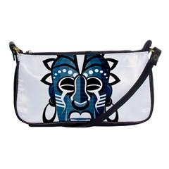 Mask Shoulder Clutch Bags