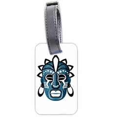 Mask Luggage Tags (One Side)