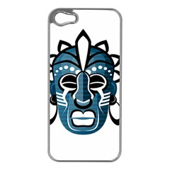Mask Apple iPhone 5 Case (Silver)