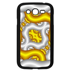 Fractal Background With Golden And Silver Pipes Samsung Galaxy Grand DUOS I9082 Case (Black)