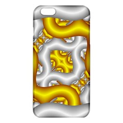 Fractal Background With Golden And Silver Pipes Iphone 6 Plus/6s Plus Tpu Case