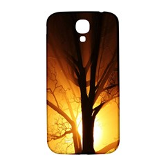 Rays Of Light Tree In Fog At Night Samsung Galaxy S4 I9500/I9505  Hardshell Back Case