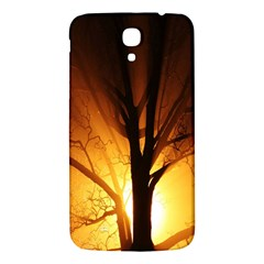 Rays Of Light Tree In Fog At Night Samsung Galaxy Mega I9200 Hardshell Back Case