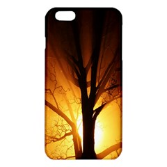 Rays Of Light Tree In Fog At Night iPhone 6 Plus/6S Plus TPU Case