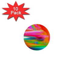 Abstract Illustration Nameless Fantasy 1  Mini Buttons (10 Pack)