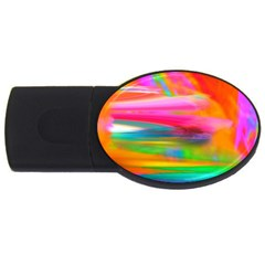 Abstract Illustration Nameless Fantasy Usb Flash Drive Oval (2 Gb)