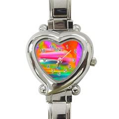 Abstract Illustration Nameless Fantasy Heart Italian Charm Watch