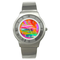 Abstract Illustration Nameless Fantasy Stainless Steel Watch