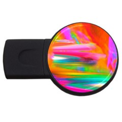 Abstract Illustration Nameless Fantasy Usb Flash Drive Round (4 Gb)