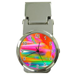 Abstract Illustration Nameless Fantasy Money Clip Watches
