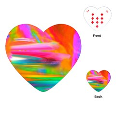 Abstract Illustration Nameless Fantasy Playing Cards (Heart)