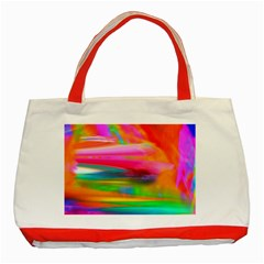 Abstract Illustration Nameless Fantasy Classic Tote Bag (Red)