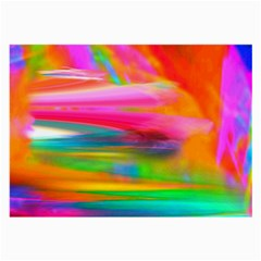 Abstract Illustration Nameless Fantasy Large Glasses Cloth