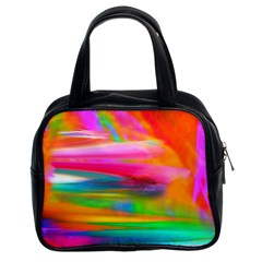 Abstract Illustration Nameless Fantasy Classic Handbags (2 Sides)