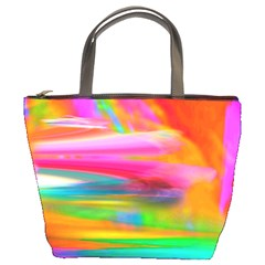 Abstract Illustration Nameless Fantasy Bucket Bags