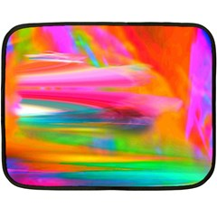 Abstract Illustration Nameless Fantasy Fleece Blanket (mini)
