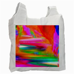 Abstract Illustration Nameless Fantasy Recycle Bag (one Side)
