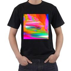 Abstract Illustration Nameless Fantasy Men s T Shirt (black)