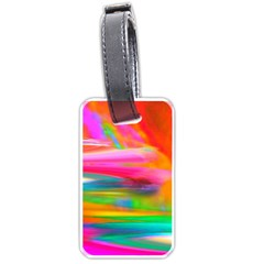 Abstract Illustration Nameless Fantasy Luggage Tags (One Side)