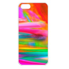 Abstract Illustration Nameless Fantasy Apple Iphone 5 Seamless Case (white)
