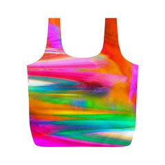 Abstract Illustration Nameless Fantasy Full Print Recycle Bags (m)