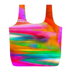 Abstract Illustration Nameless Fantasy Full Print Recycle Bags (l)