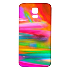 Abstract Illustration Nameless Fantasy Samsung Galaxy S5 Back Case (White)