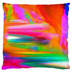 Abstract Illustration Nameless Fantasy Large Flano Cushion Case (one Side)