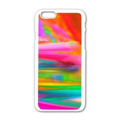 Abstract Illustration Nameless Fantasy Apple Iphone 6/6s White Enamel Case