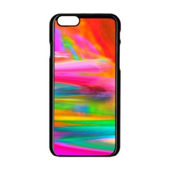 Abstract Illustration Nameless Fantasy Apple Iphone 6/6s Black Enamel Case