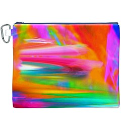 Abstract Illustration Nameless Fantasy Canvas Cosmetic Bag (xxxl)
