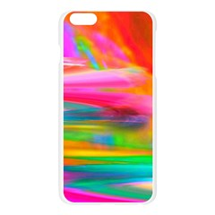 Abstract Illustration Nameless Fantasy Apple Seamless iPhone 6 Plus/6S Plus Case (Transparent)