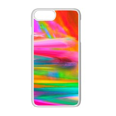 Abstract Illustration Nameless Fantasy Apple Iphone 7 Plus White Seamless Case