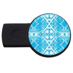 Pattern USB Flash Drive Round (2 GB)