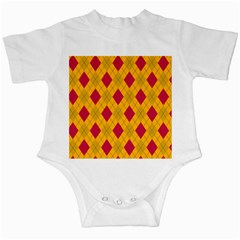 Plaid pattern Infant Creepers