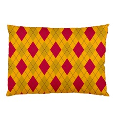 Plaid pattern Pillow Case