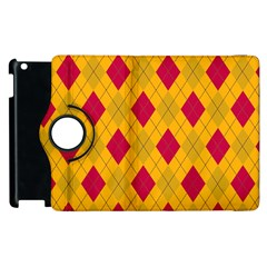Plaid pattern Apple iPad 2 Flip 360 Case