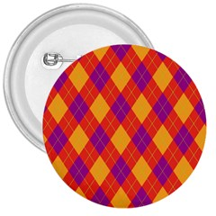 Plaid pattern 3  Buttons