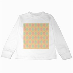 Plaid pattern Kids Long Sleeve T-Shirts