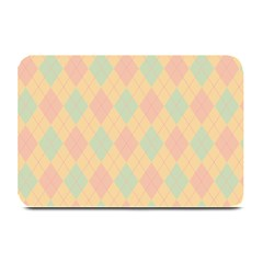 Plaid pattern Plate Mats