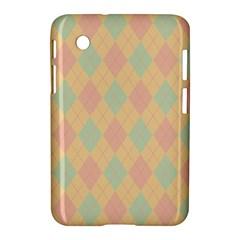 Plaid pattern Samsung Galaxy Tab 2 (7 ) P3100 Hardshell Case