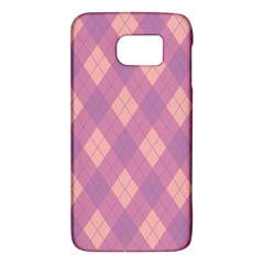 Plaid pattern Galaxy S6