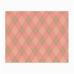 Plaid pattern Small Glasses Cloth (2-Side)