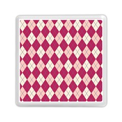Plaid pattern Memory Card Reader (Square)